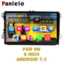 Panlelo S9 For VW 9 inch Autoradio Car Android 8.1 GPS Navigation Car Stereo Radio Multimedia Player Android For Golf Polo