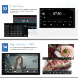 Panlelo S10 Autoradio 2 Din Android Car Stereo 7  1024*600 1080P Quad Core 2din Android Head Unit GPS Navigation Audio Radio