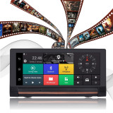 Car Dash Camera DVR 6.86  3G/4G Android 5.0 WIFI 1080P Video Recorder Music Player Vehicle GPS Navigation Bluetooth G-Sensor 1GB