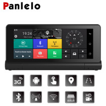 Car Dash Camera DVR 6.86  Android 5.0 Vehicle GPS Navigation 1080P 3G/4G Wi-Fi FM Transmitter G-Sensor Quad Core 1GB RAM 16GB RO