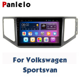 For Volkswagen Sagitar Sportsvan LamandoCC Octavia Superb Bora Steering Wheel Control Car Stereo Android 2 Din