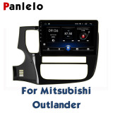 For Mitsubishi ASX Outlander Lancer-ex Radio AM/FM GPS Navigation BT Steering Wheel Control Car Stereo Android 2 Din