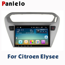 For Citroen Elysee C-Quatre C3XR Peugeot 301 AM/FM GPS Navigation BT Steering Wheel Contro Car Stereo Android 2 Din