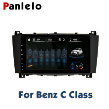 Benz C S R E Smart B200 ML CLK W209 GPS Navigation Auto Radio BT SWC 1GB RAM 16GB ROM Quad Core Car Stereo Android 2 Din