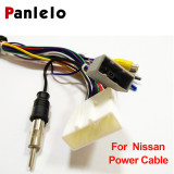 Car Stereo Universal 1din or 2din Android Power Cable Harness ISO Suitable Panlelo and EZONETRONICS for Toyota Nissan Model note