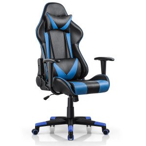 Gaming Chair 180 degree Lying Chairs Racing Chairs Ergonomic chair Executive Chairs Home Office Chairs Computer Chairs Black/Blue/Gray/Red