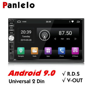 Panlelo 2 Din Auto Radio Android 9 GPS Player 7 inch Autoradio Build-in Wifi RDS Android 9.0 Radio 2G RAM Für Honda Hyundai