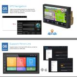 2 Din Android 8.1 Car Stereo 1080P 7 Inch Quad Core 2 din Head Unit GPS Navigation Audio Radio