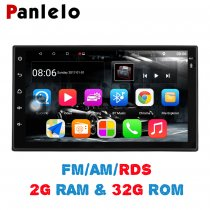 Panlelo S10 Plus 2 Din Android Car Stereo 2G+32G 7  1080P Autoradio Quad Core 2din Android Head Unit GPS Navigation Audio Radio