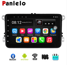 Panlelo S8 for VW Android Autoradio GPS Navigation 8 inch Car Stereo Radio Multimedia Player For Polo Golf 4 Passat B6 B5 B7 2din