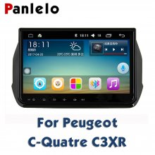 For Peugeot C-Quatre C3XR 408 301C-Quatre C3XR 308 GPS Navigation BT Steering Wheel Control Car Stereo Android