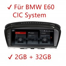 For BMW E60 CIC System 2GB 32GB Android Car Radio Touch Screen GPS NAVI USB