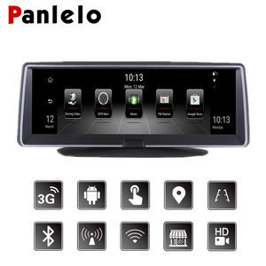 Car Android GPS Navigation 7.84  Auto Dash Camera DVR 3G/4G Network Touch Screen Bluetooth APP Control Wi-Fi Rear View Camera