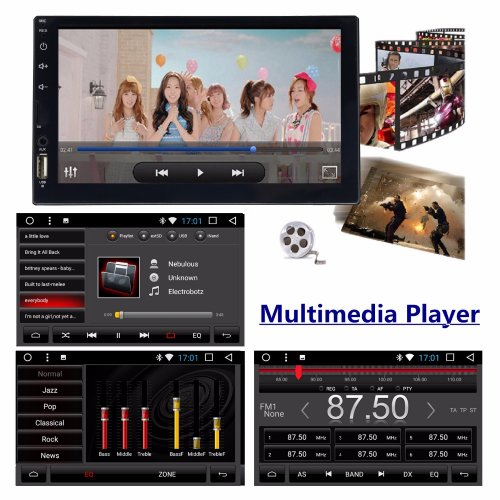 Panlelo S4 8 Cores 2G+16G 2 Din Android Car Radio Double Din