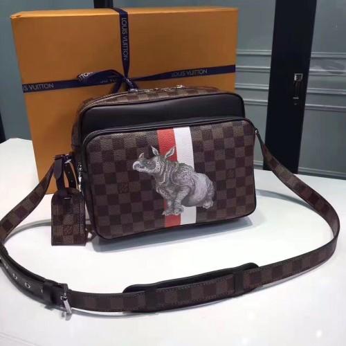 LouisVuitton LV Men Shoulder Bag