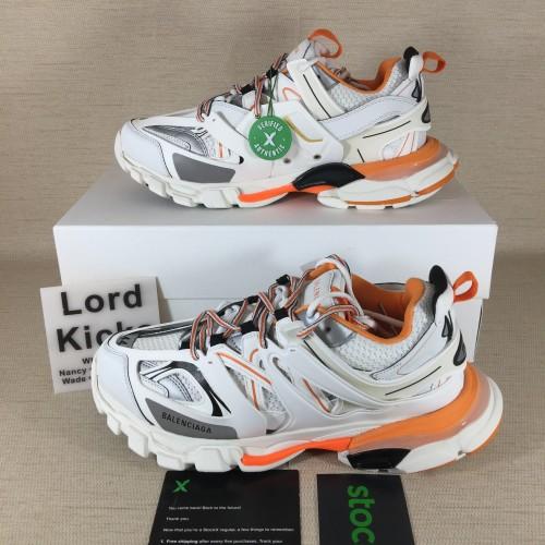 Balenciaga Track sneaker TESS S.GOMMA white/orange