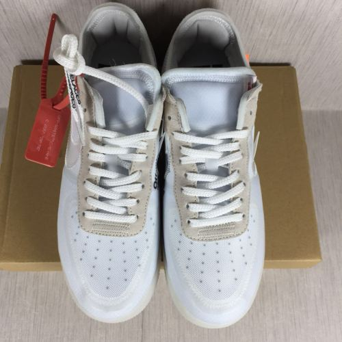 off-White X Air Force 1 air force one transparent ash limited joint AO4606 100