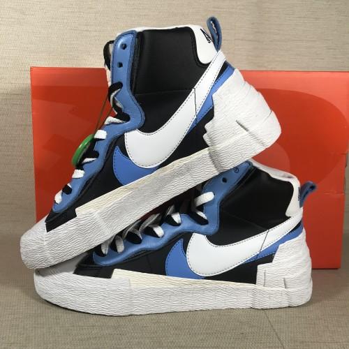 Nike Blazer High sacai White Black Legend Blue BV0072-001