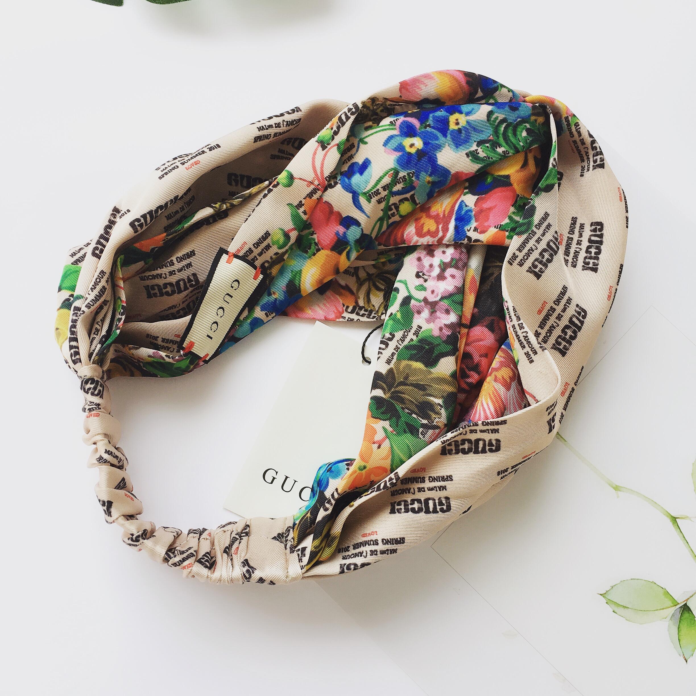 Designe Stamp Flower Headband X059