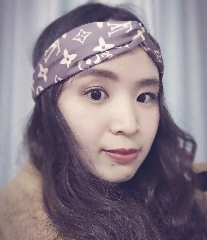 1pc Inspired Satin Silk Headband