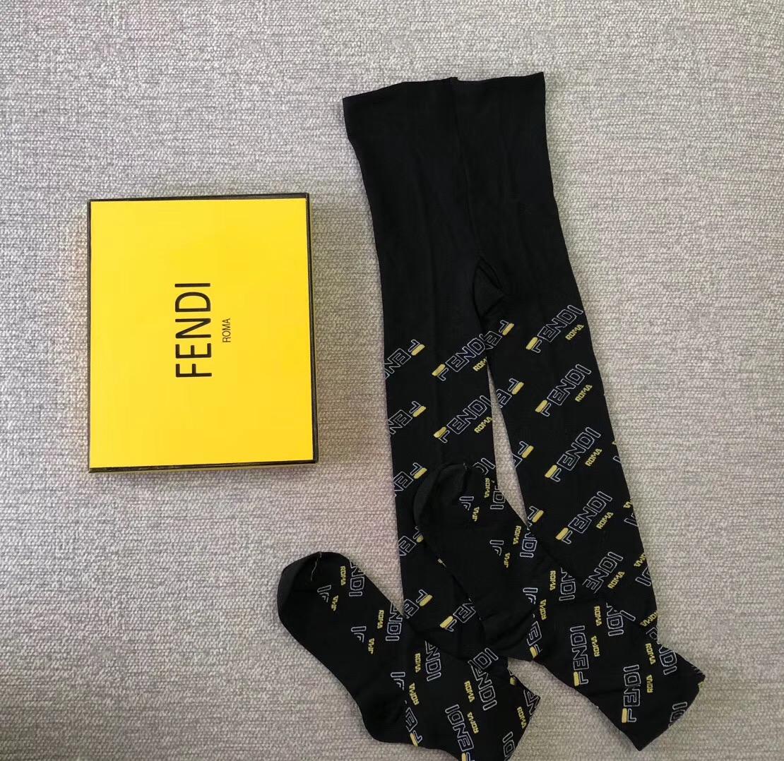 S52 FF Black cotton tights