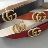 leather gg belts 2.8cm 3.3cm
