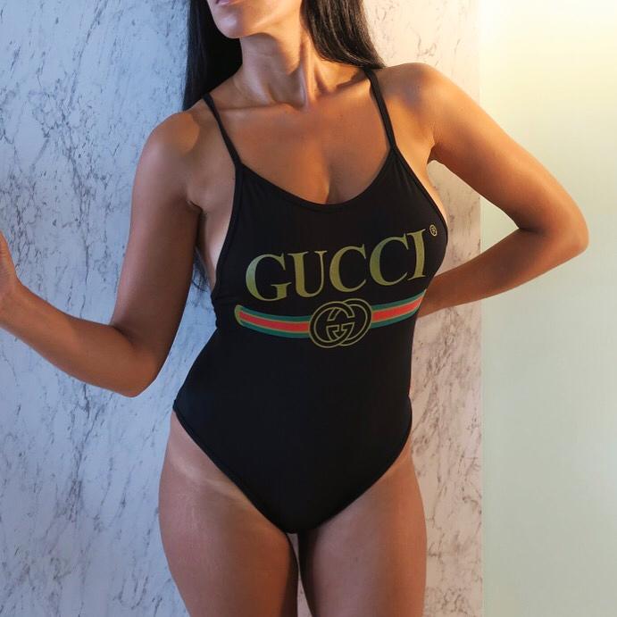 GU03 Designer One-piece swimwear