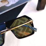 GL1706 Designer Fashion FF Laser Mask Sunglasses