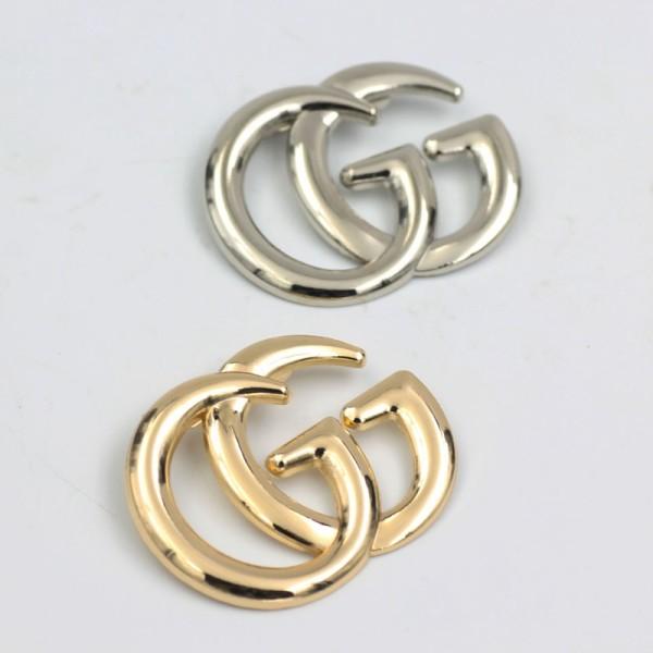 J001 Designer GG Plated Brooch Fashion Jewelry