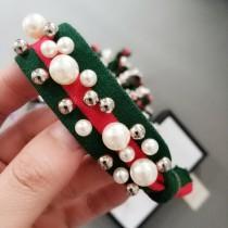 Elastic Pearls Scrunchie Hair Rope