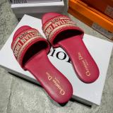 YM02 Embroidered Dior Slippers