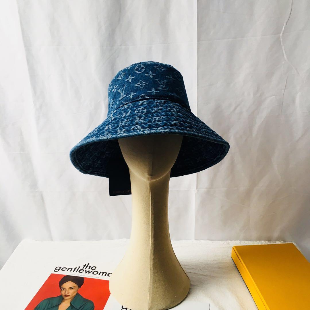 Designer Monogram Bucket Hat LU-02