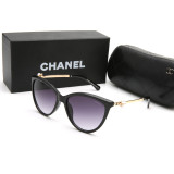 GL9290 Designer CC Chanel Pearls Sunglasses