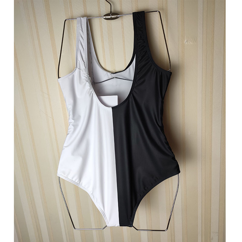 MCH01 New Chanel Swimwear black and white