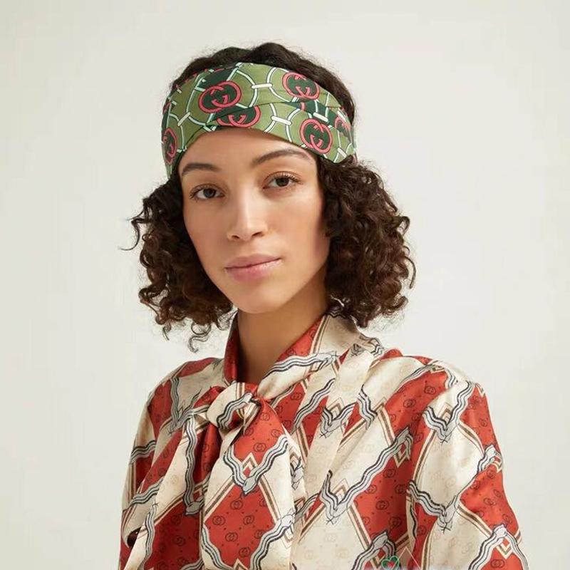 X173 New GG Headband Multilayer Headwrap