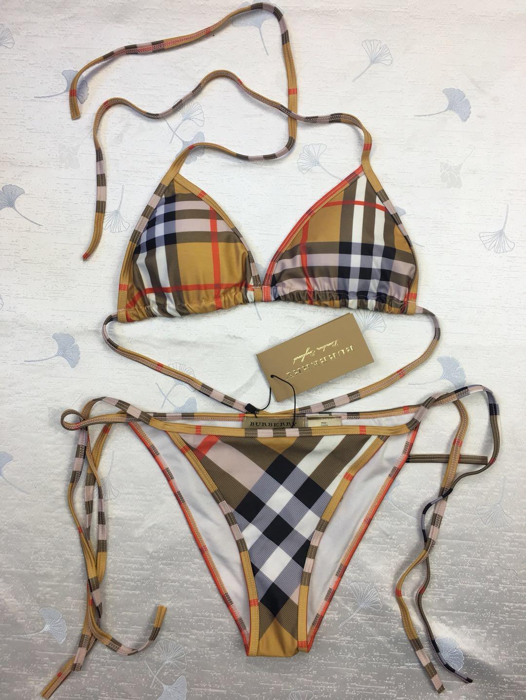 BURBER01 Burberry Bikinis Set