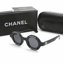 CC1495 Designer Chanel Paris Round Sunglasses