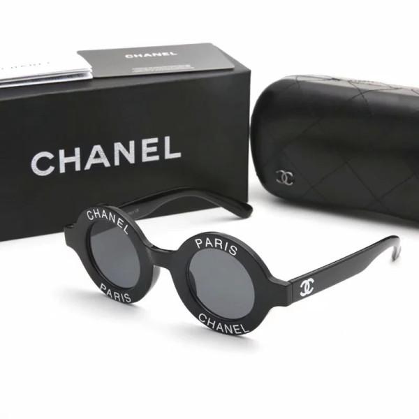 CC1495 Designer Chanel Paris Round Sunglasses