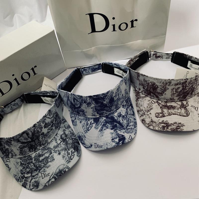 DR-003 Dior TOILE Printed Visor