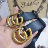 Leather Belts with GG 2cm 3cm 3.3cm 3.8cm