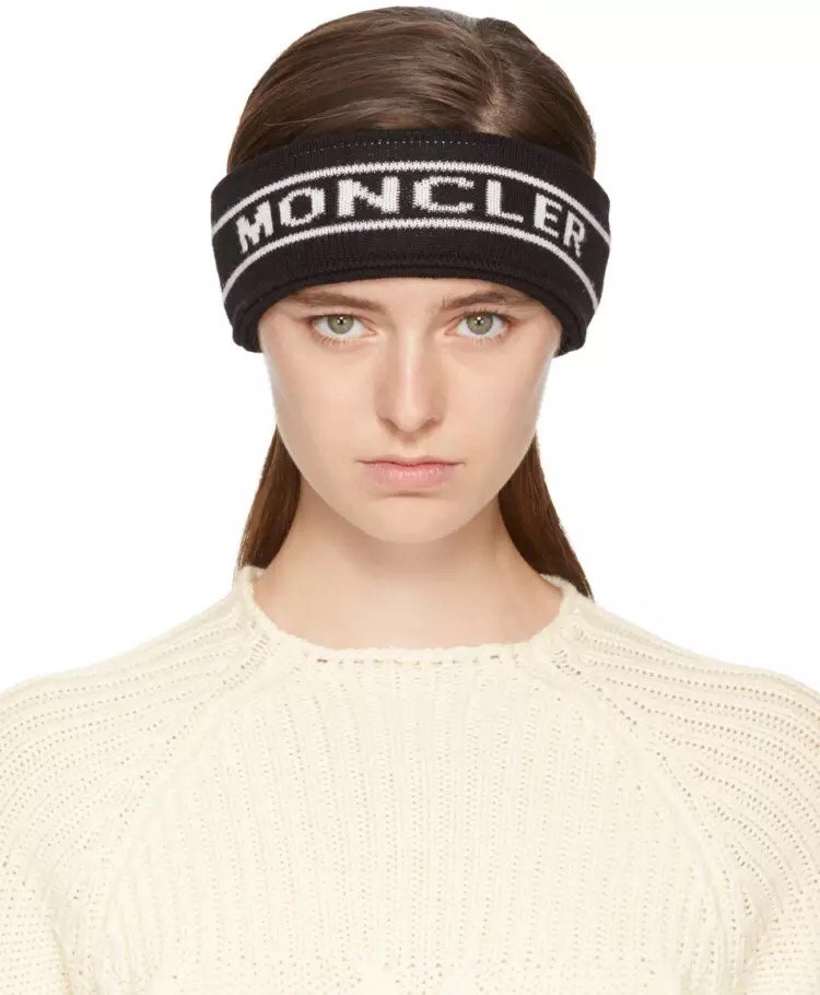 Moncler Wool Knitted Headband Winter  X193