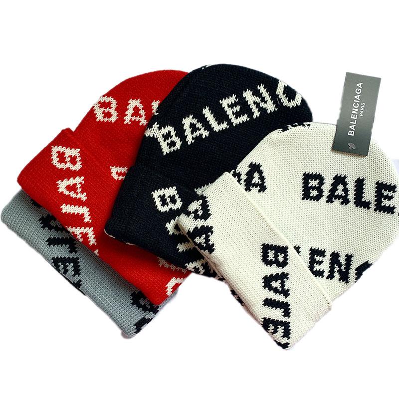 kintted Balenciaga beanie hat for winter CA021