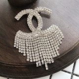 Chanel brooch with Crystal A0645