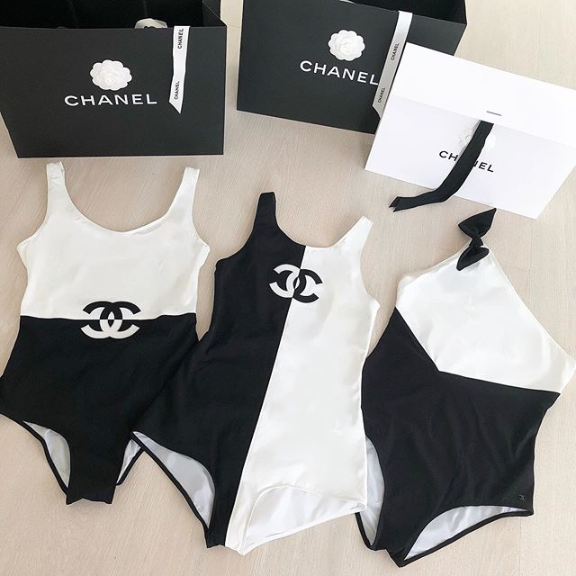 CH02 Chanel Swimwear One-piece