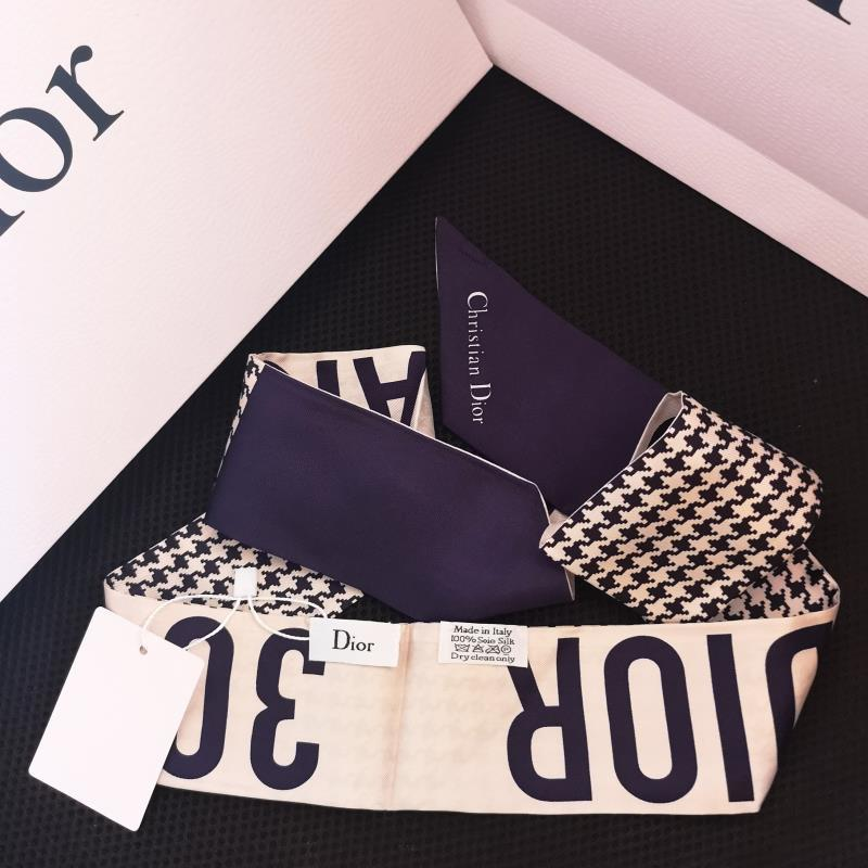 Dior Twilly Scarf 100% Silk
