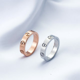 Fashion Love Rings A0652