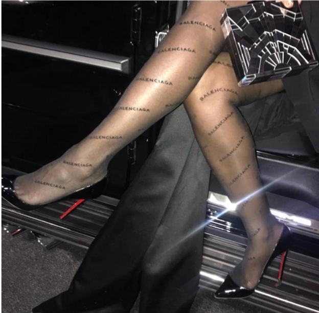 balenciaga tights - 1pc