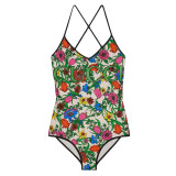 Colorful GUCCI Swimsuit G8852