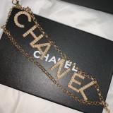 Crystal CC Waist Chain Belt