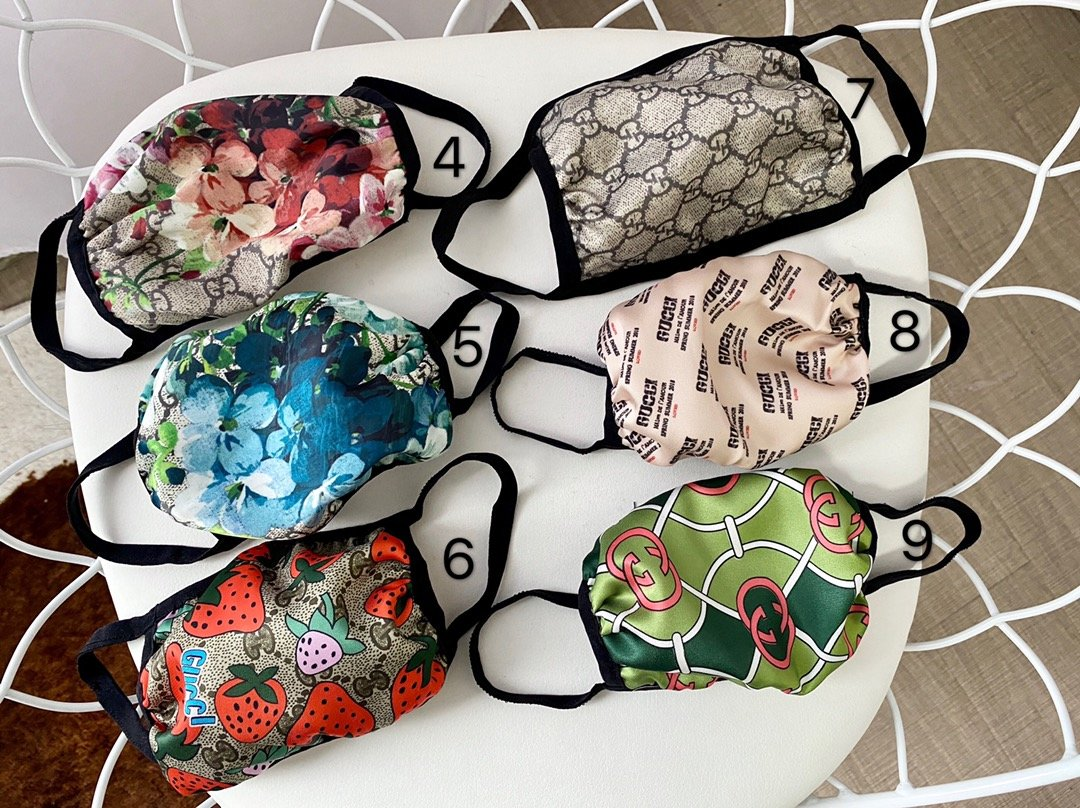 Fashion Masks Silk and Cotton